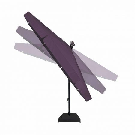 Treasure Garden 13' Cantilever Freestanding Umbrella Tilted