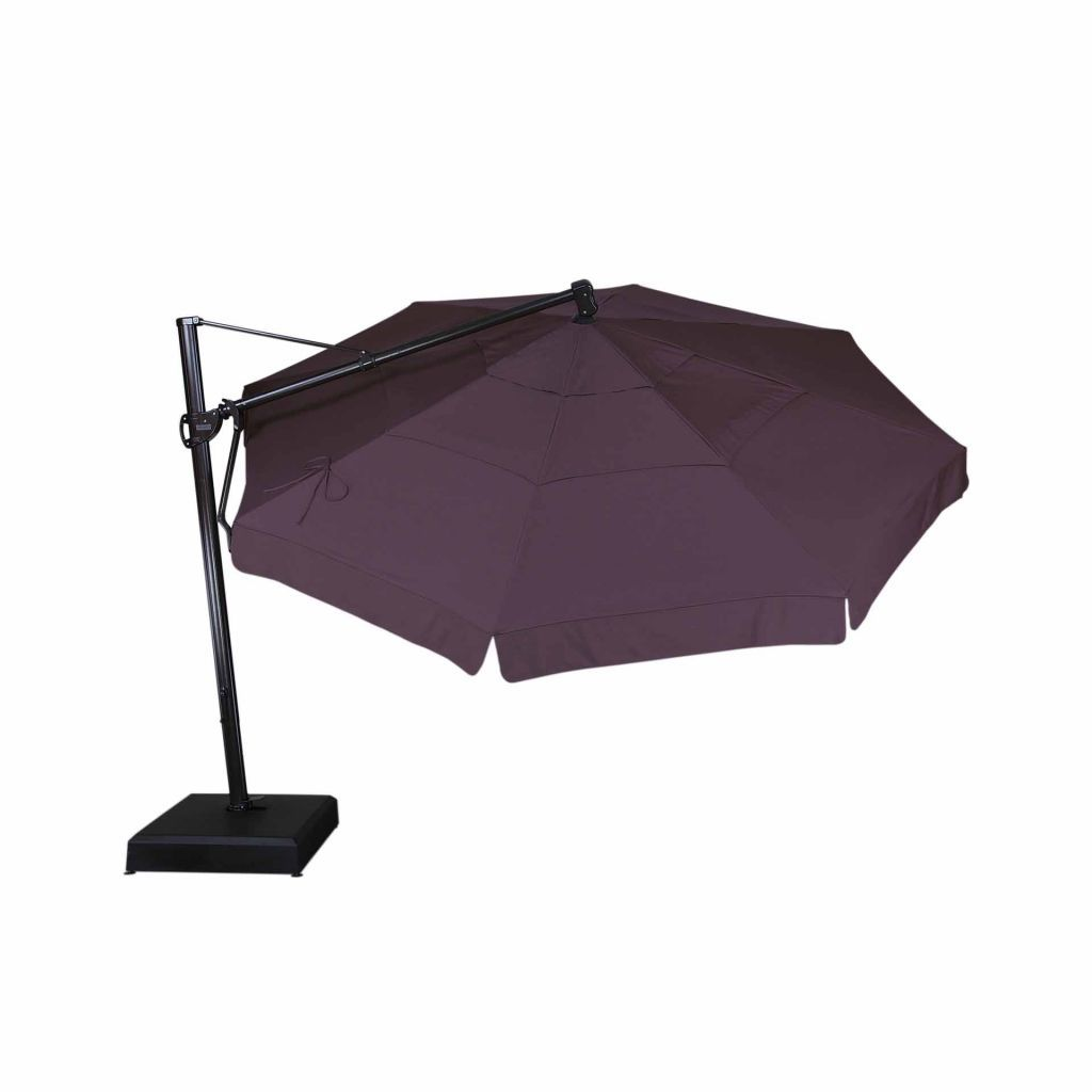 Treasure Garden 13 39 Cantilever Freestanding Umbrella Leisure Living