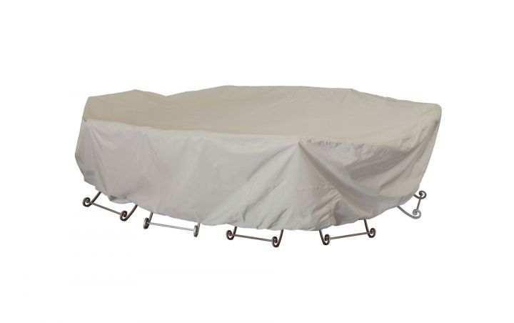 Treasure Garden 2X-Large Oval Rectangle Table with Chairs Protective Cover