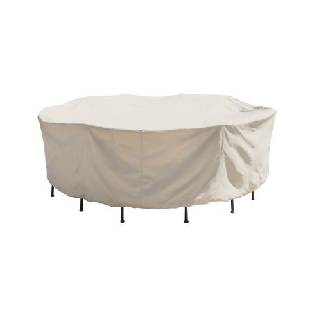 Treasure Garden 54 Round Table with Chairs Protective Cover