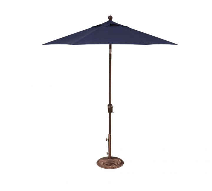 Treasure Garden 7.5′ Push Button Tilt Umbrella – Spectrum Indigo