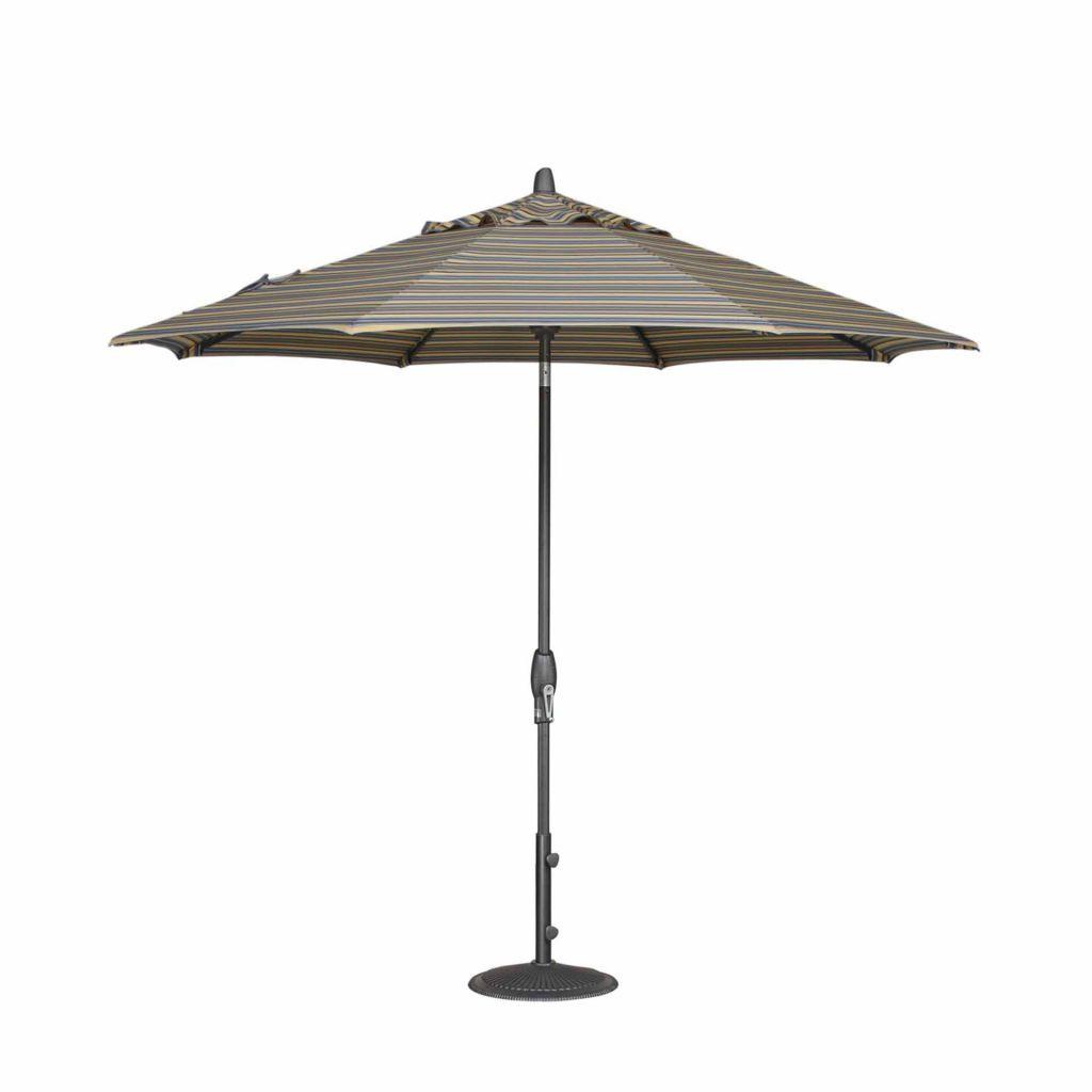 Superior ... Treasure Garden 9u0027 Auto Tilt Market Umbrella Open ...