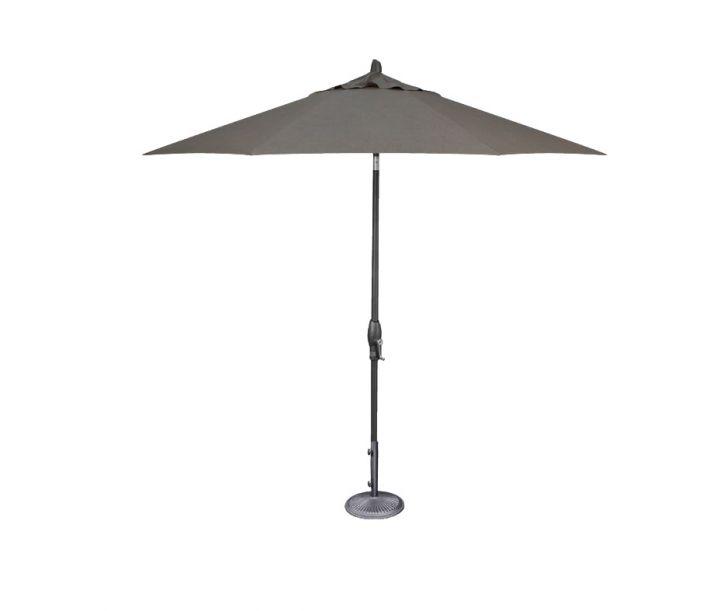 Treasure Garden 9′ Auto Tilt Umbrella – Cast Slate