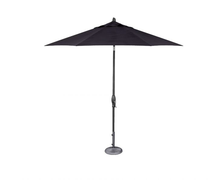 Treasure Garden 9′ Auto Tilt Umbrella – Navy