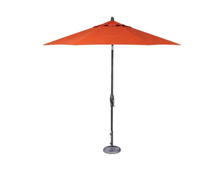 Treasure Garden 9′ Auto Tilt Umbrella – Melon