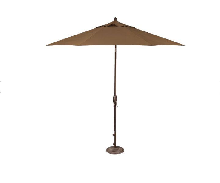 Treasure Garden 9′ Auto Tilt Umbrella – Cocoa