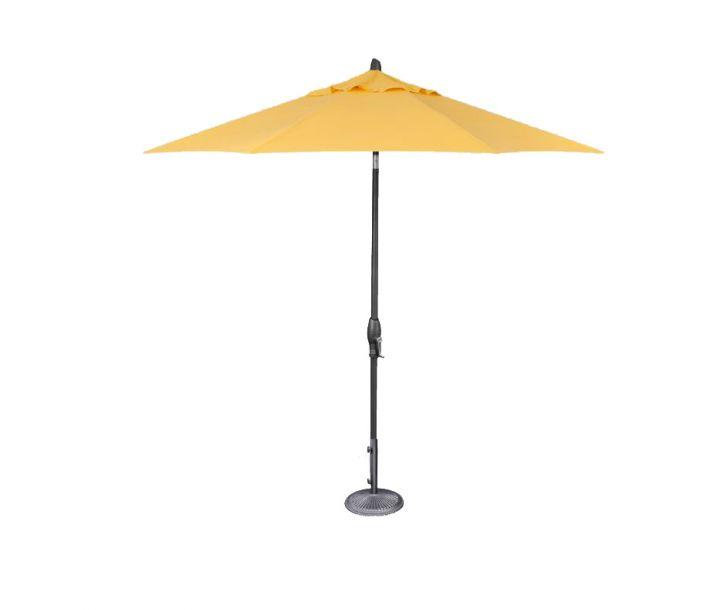 Treasure Garden 9′ Auto Tilt Umbrella – Sunflower