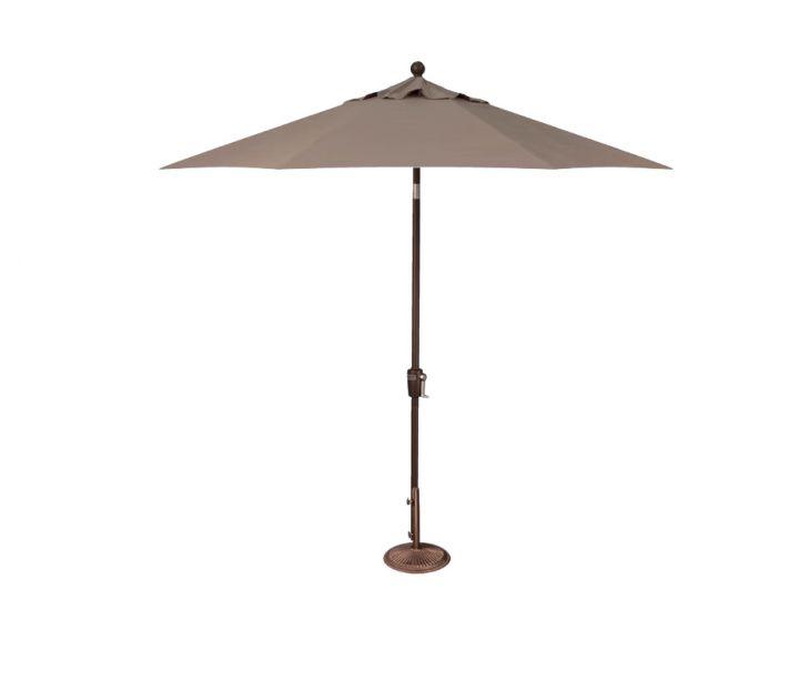 Treasure Garden 9′ PB Tilt Umbrella – Taupe