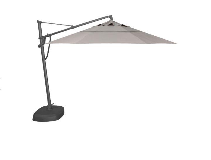 Treasure Garden AKZP2D 11′ Plus Cantilever Umbrella – Spectrum Dove