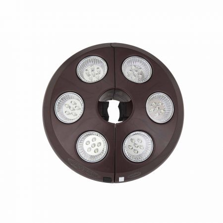 Treasure Garden Large Vega Umbrella Light Closed