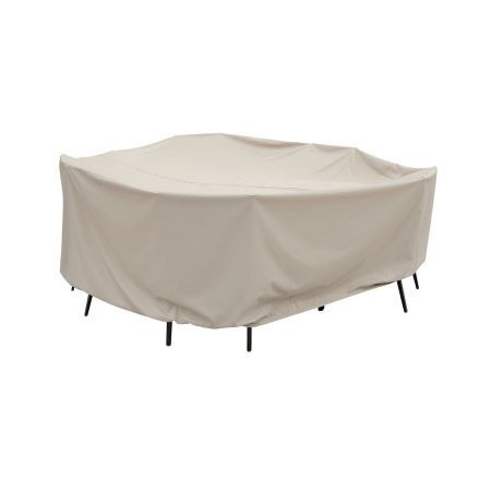 Treasure Garden Small Oval-Rectangle Table with Chairs Protective Cover