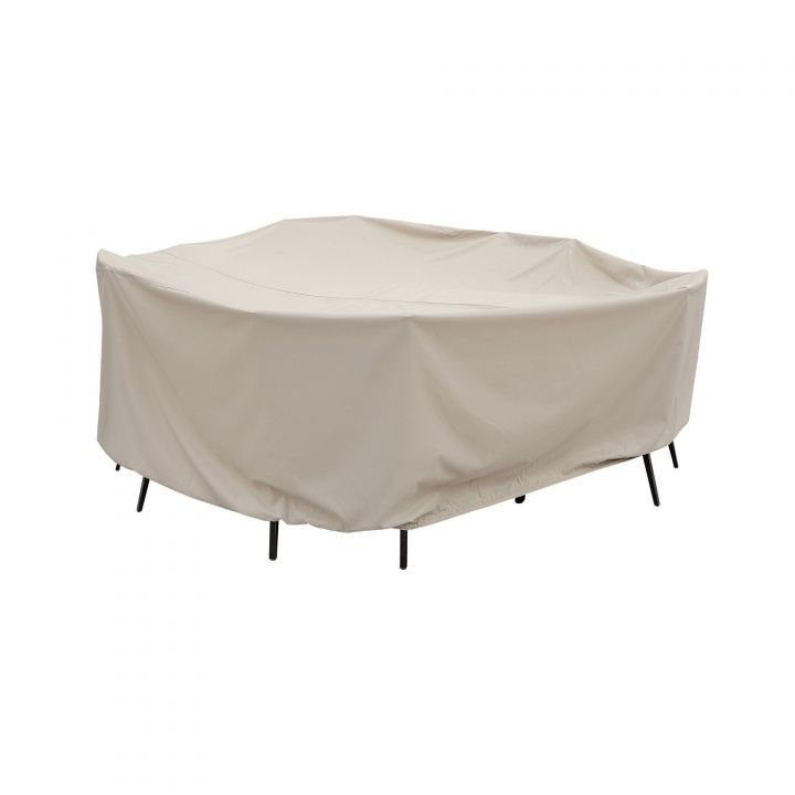 Treasure Garden X-Large Oval-Rectangle Table with Chairs Protective Cover - Copy