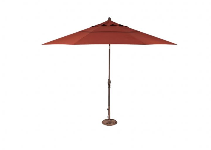 Treasure Garden 11′ Auto Tilt Umbrella – Henna