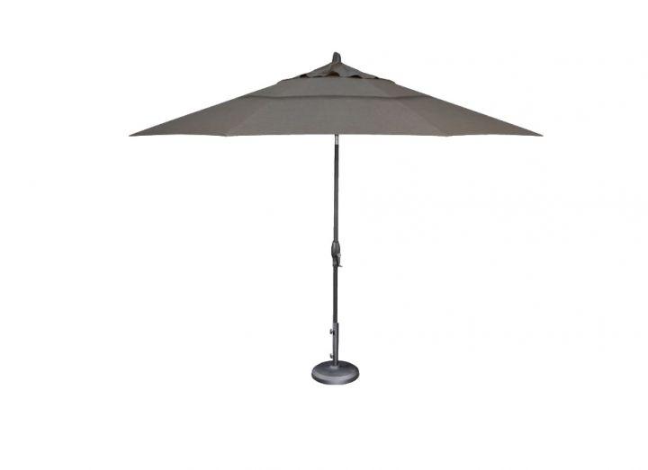 Treasure Garden 11′ Auto Tilt Umbrella – Cast Slate