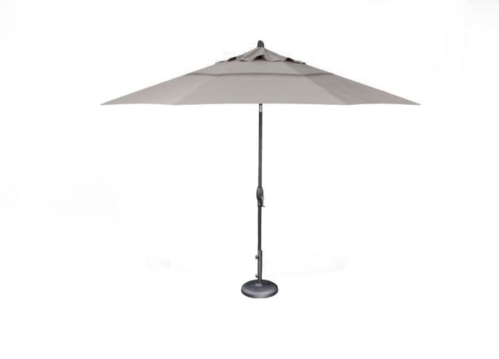Treasure Garden 11′ Auto Tilt Umbrella – Spectrum Dove