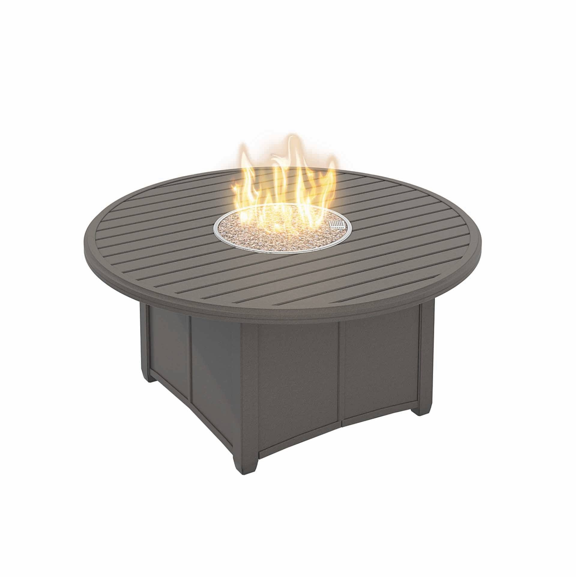 Tropitone Banchetto 54 Quot Round Fire Pit Leisure Living