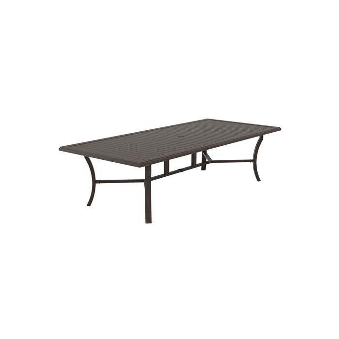 Tropitone Banchetto 108×48″ Rectangular Dining Table