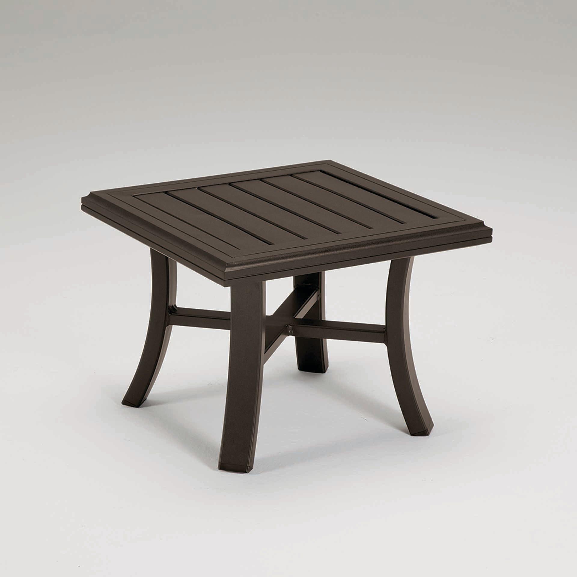 Tropitone Banchetto 24 Quot Square Tea Table Leisure Living