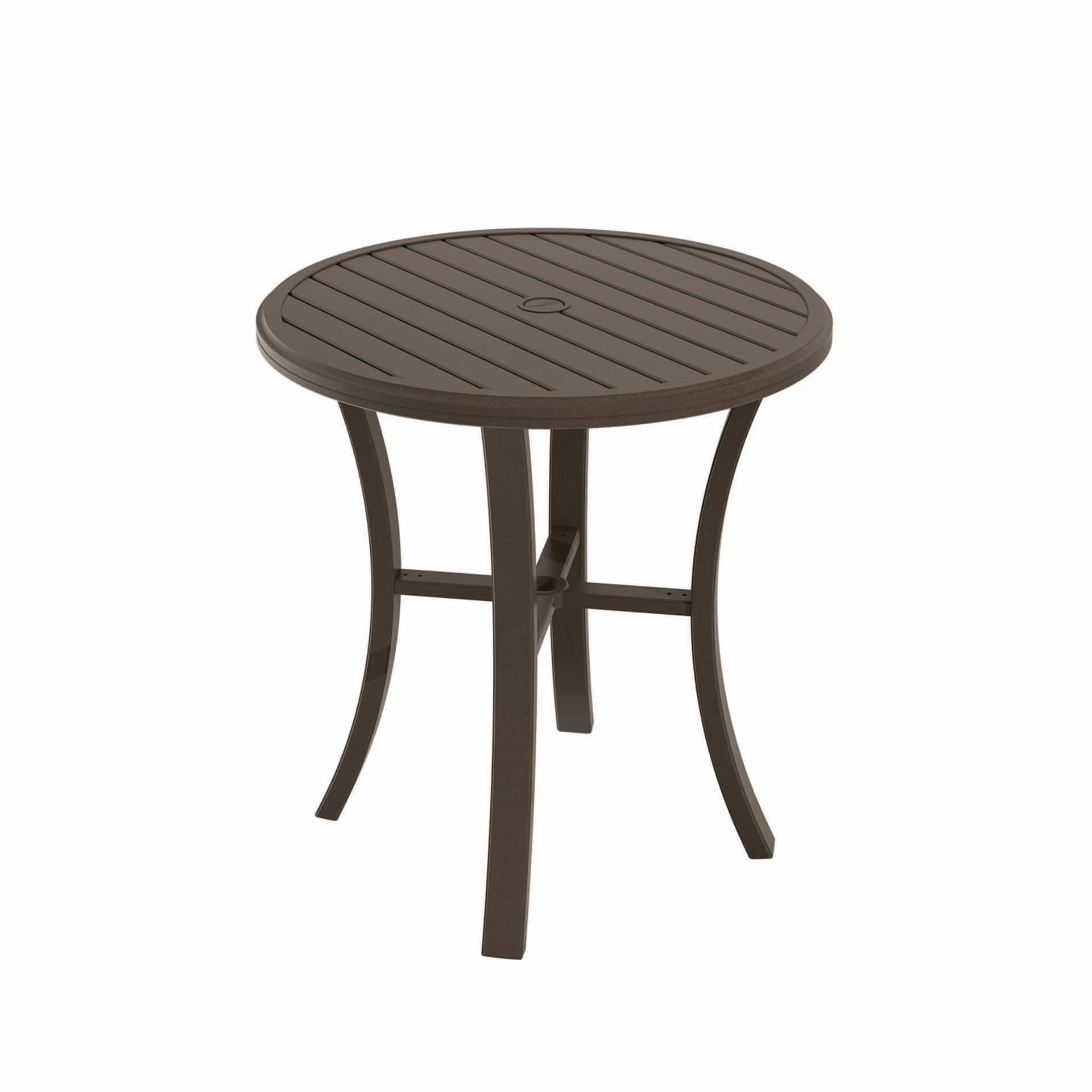 Tropitone Banchetto 36 Quot Round Bar Table Leisure Living