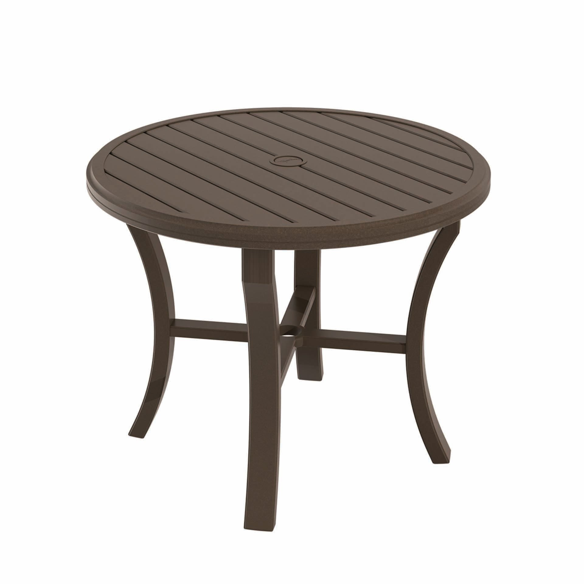 Tropitone Banchetto 36 Quot Round Dining Table Leisure Living