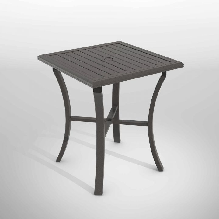 Tropitone Banchetto 36″ Square Bar Table