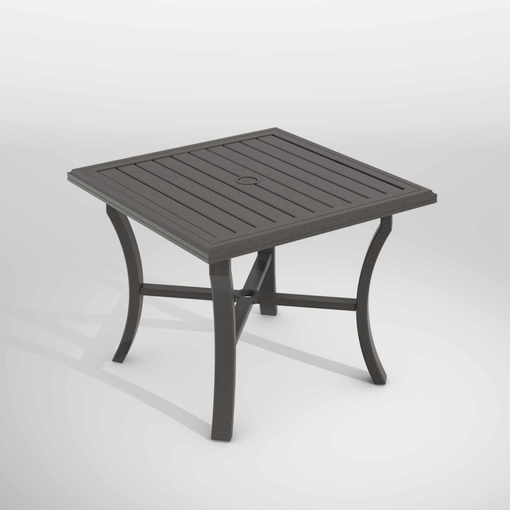 Tropitone Banchetto 36 Quot Square Dining Table Leisure Living