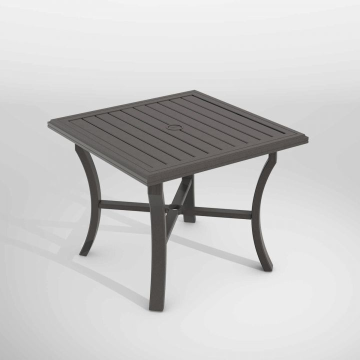 Tropitone Banchetto 36 Square Dining Table Leisure Living
