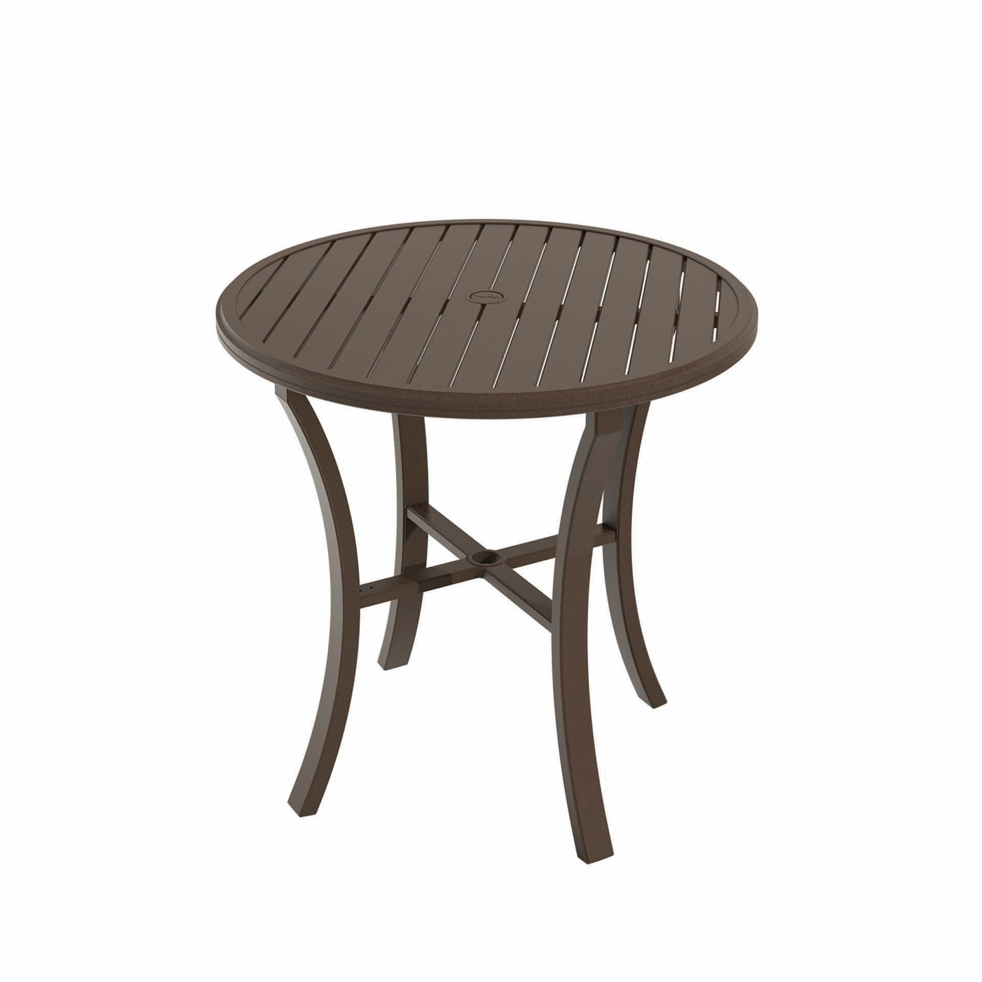 Tropitone Banchetto 42 Quot Round Bar Table Leisure Living