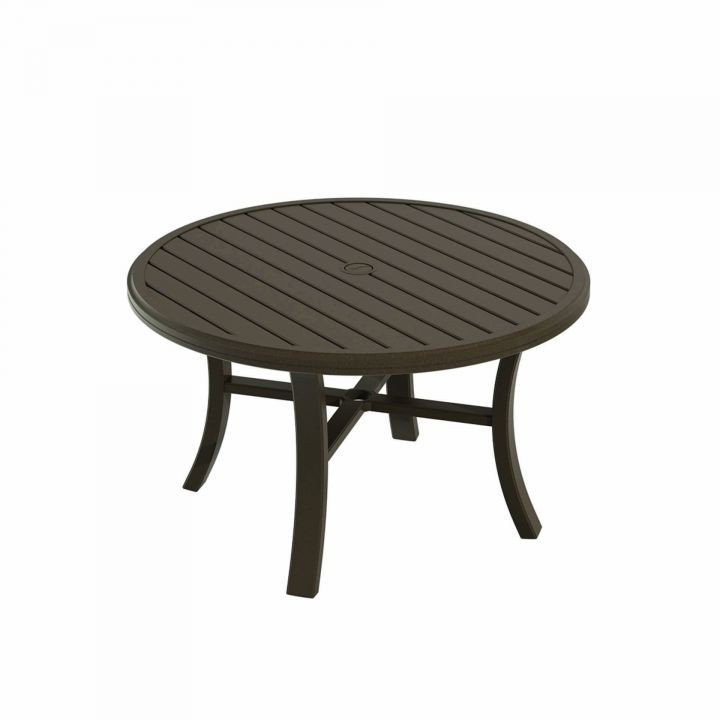 Tropitone Banchetto 42″ Round Chat Table