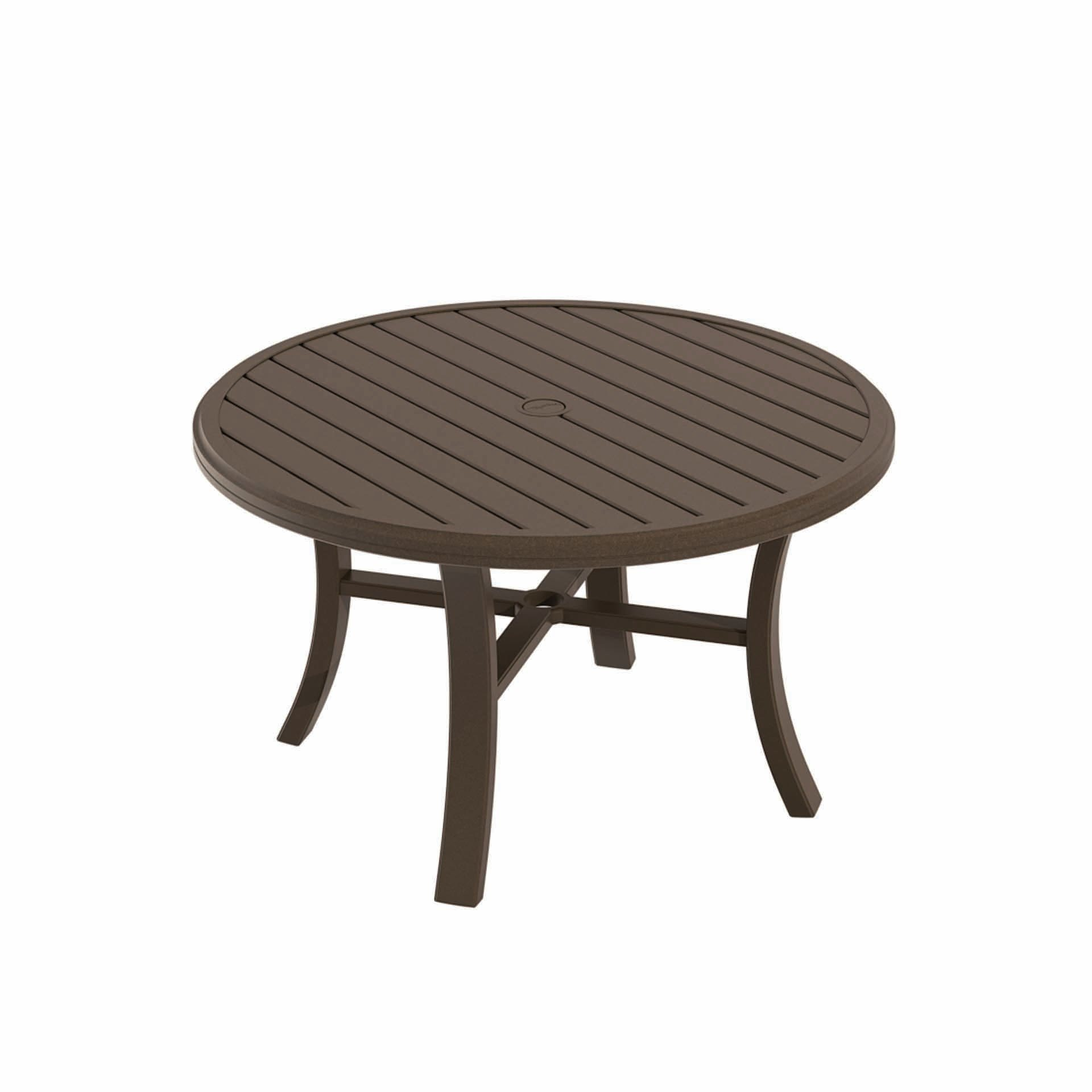 Tropitone Banchetto 42 Quot Round Chat Table Leisure Living
