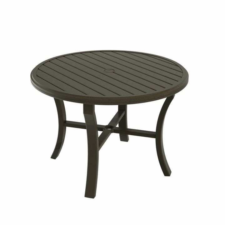 Tropitone Banchetto 42 Quot Round Dining Table Leisure Living