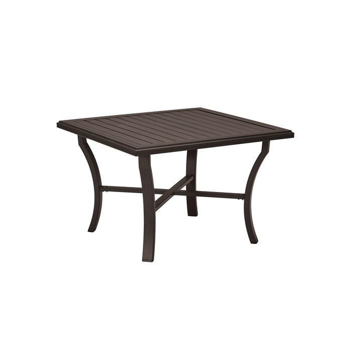 Tropitone Banchetto 42 Quot Square Dining Table Leisure Living