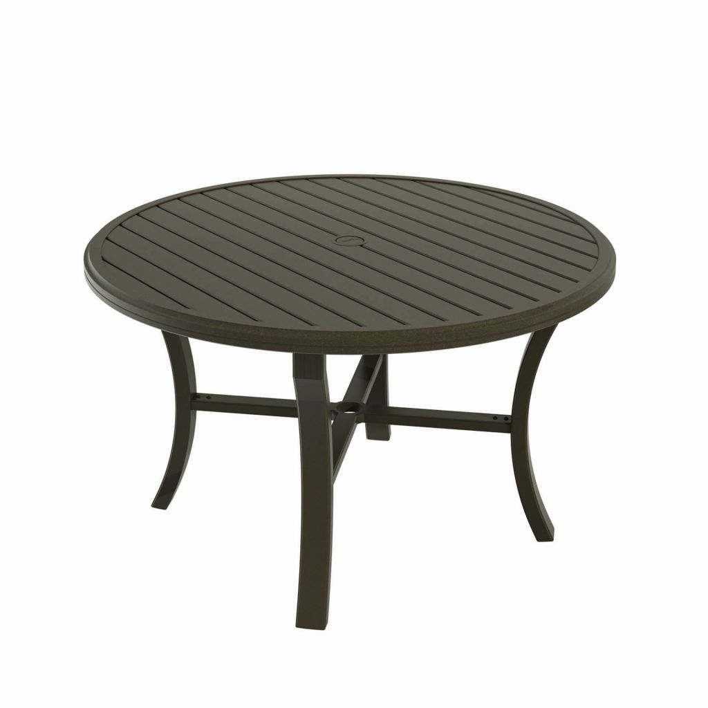 Tropitone Banchetto 48quot Round Dining Table Leisure Living : Tropitone Banchetto 48 Round Dining Table 1024x1024 from www.leisurelivinginc.com size 1024 x 1024 jpeg 37kB