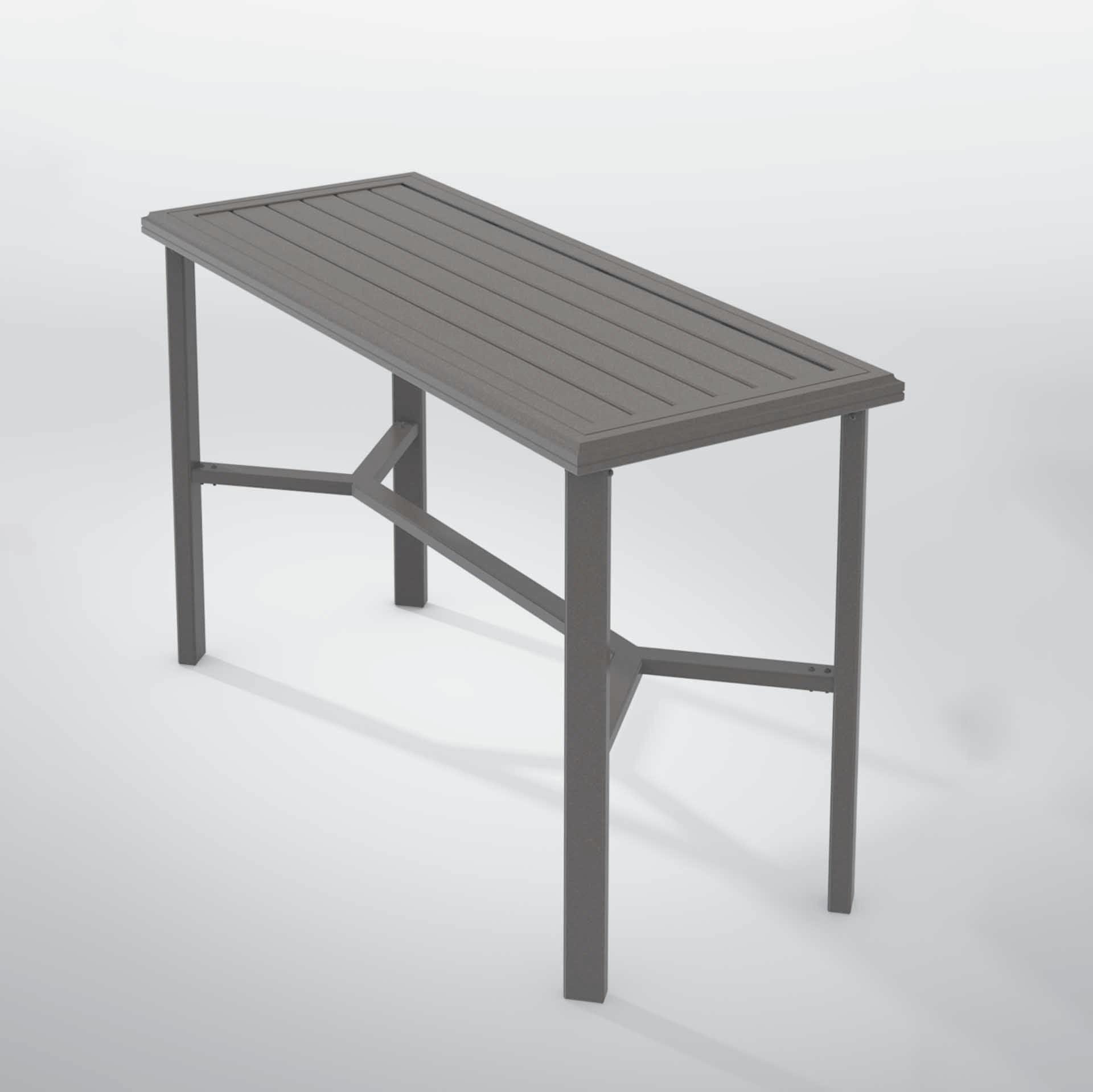 Tropitone Banchetto 60x24 Quot Rectangular Console Table