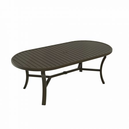 Tropitone Banchetto 84x42 Oval Dining Table