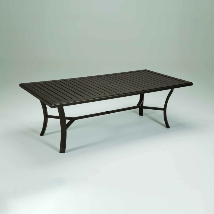 Tropitone Banchetto 84x42 Rectangular Dining Table