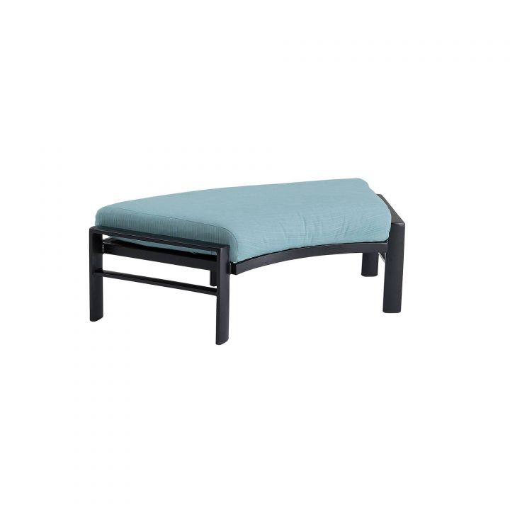 Tropitone Kenzo Cushion Crescent Ottoman Bench