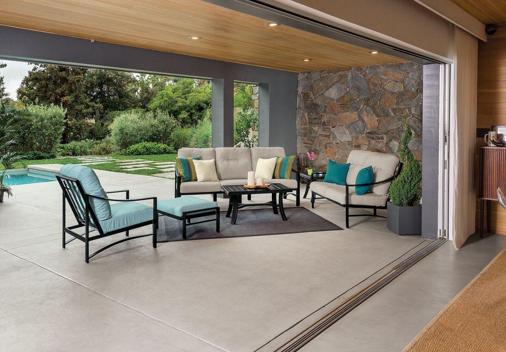Tropitone Kenzo Cushion Lounge Chair Leisure Living