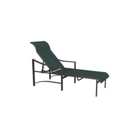 Tropitone Kenzo Sling Chaise Lounge- Side View