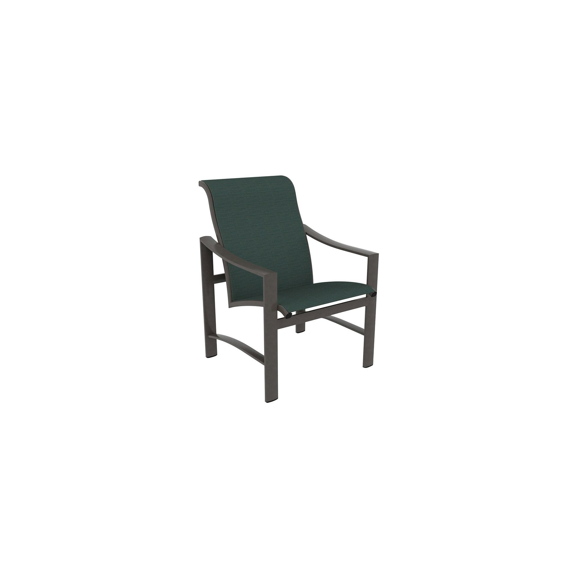 Tropitone Kenzo Sling Dining Chair Leisure Living
