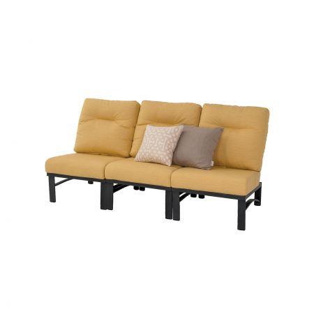 Tropitone Kenzo Woven Armless Modules Configured As A Sofa