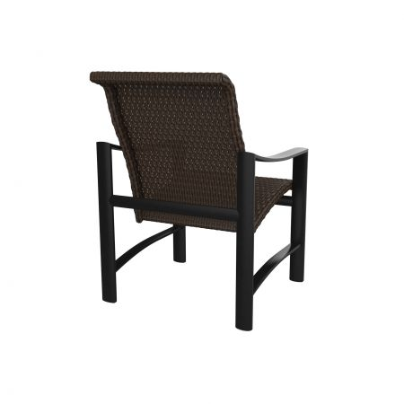Tropitone Kenzo Woven Dining Chair Back View