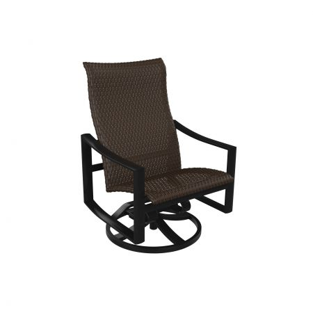 Tropitone Kenzo Woven Swivel Action Lounger Front View