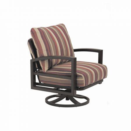 Tropitone Lakeside Cushion Swivel Action Lounger
