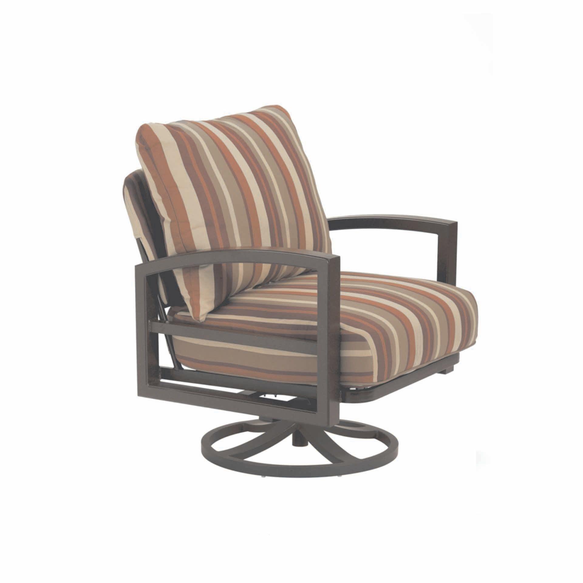 Tropitone Lakeside Cushion Swivel Action Lounger Leisure
