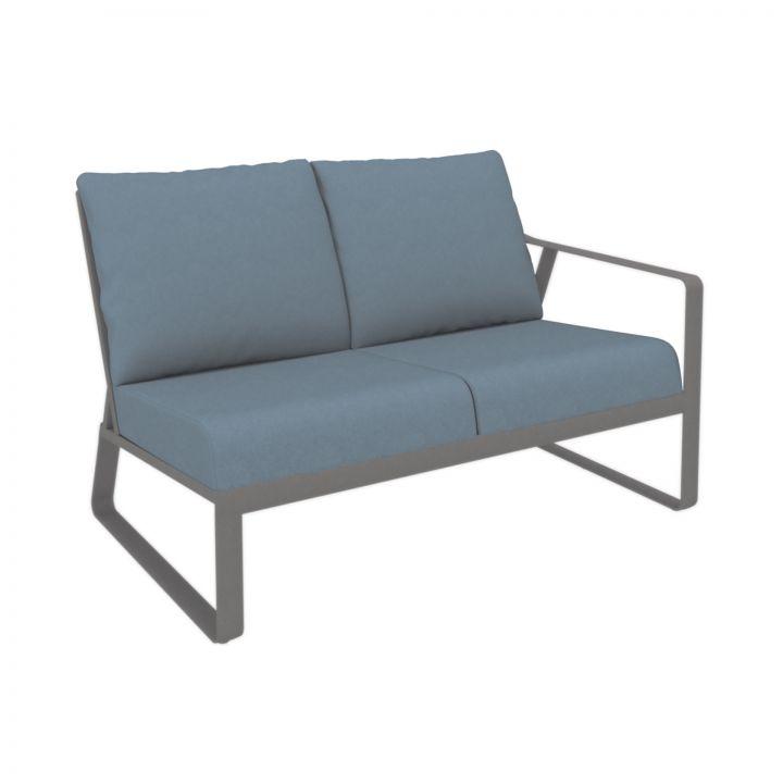 Tropitone Samba Cushion Left Arm Two-Seat Module