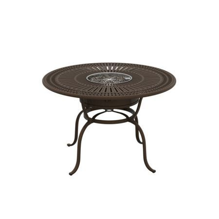 Tropitone Spectrum 55 Round Counter Height Fire Table