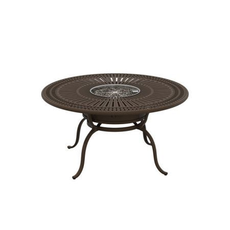 Tropitone Spectrum 55 Round Dining Fire Table2
