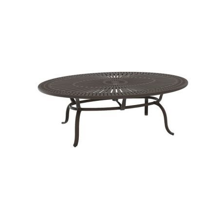 Tropitone Spectrum 86x62 Oval Dining Table