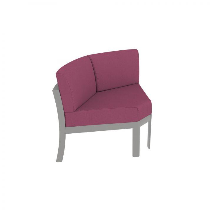 Tropitone KOR Cushion Curved Corner Module